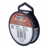 Alambre Beadalon Wildfire 0.20mm negro