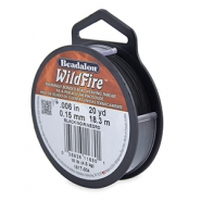 Alambre Beadalon Wildfire 0.15mm negro