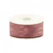 Hilo Beadalon Nymo 0.3mm malva dusty