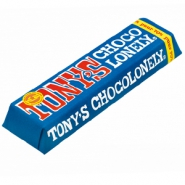 Barra de chocolate Tony's Chocolonely negro 70% 50 gram n/a