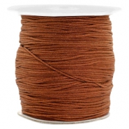 Hilo macramé 1.0mm chocolate marrón