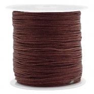 Hilo macramé 0.8mm marrón Tawny