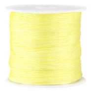 Hilo macramé satinado 0.8 mm amarillo Tender