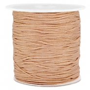 Hilo macramé 1.0mm marrón claro