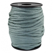 Cordón trendy Paracord 4mm verde gris